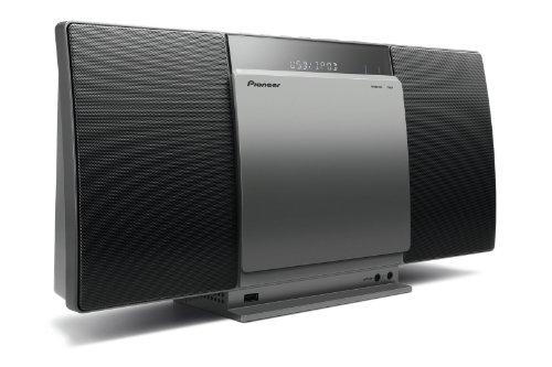 X-SMC01BT-S Micro Hifi-System (2x 10 Watt, Bluetooth, Front-USB, CD-Laufwerk) silber