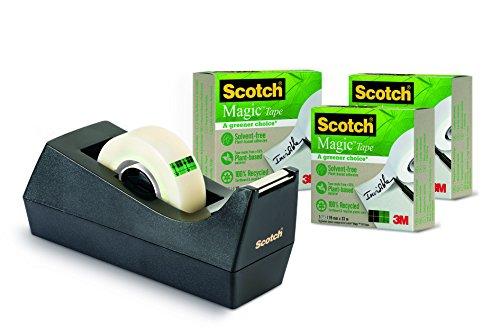 scotch-magic-9-1933r3c38-pack-de-4-dispensadores-de-cinta-de-embalaje-19-x-33m