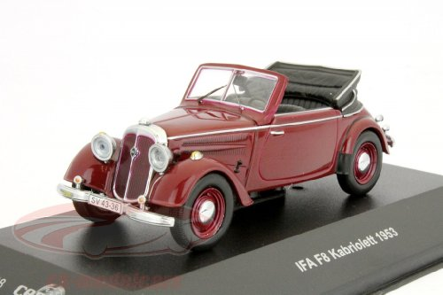 MODELS showing is IFA F8 Cabrio 1953 1:43 Scale