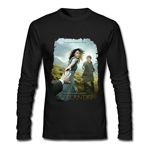 Judian Outlander Tv Show Poster Long Sleeve T Shirt For Men Xl