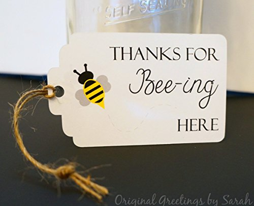 thanks-for-bee-ing-here-favor-tag-set-of-10