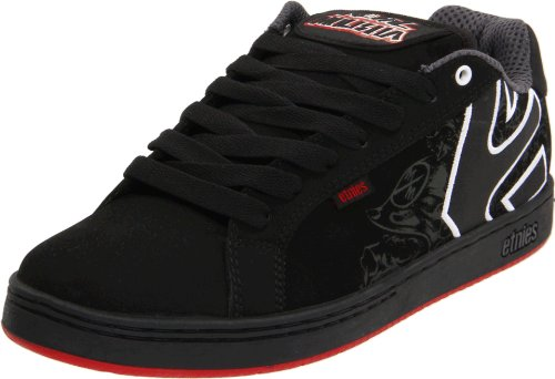 Etnies Men's Metal Mulisha Fader Black/Red/Black Trainer 4107000233 7 UK, 8 US