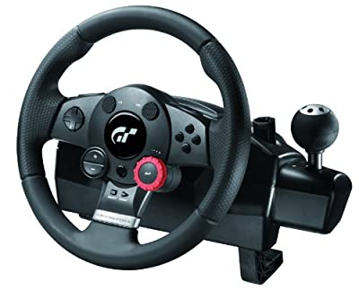 Logitech Driving Force GT - The official wheel of Gran Turismo(PS3) from Logitech