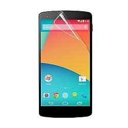 Stuffcool Clear Screen Protector Screenguard for LG Google Nexus 5 (CCLGNX5)