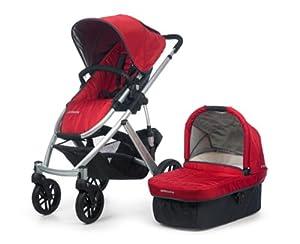 UPPAbaby Vista Stroller, Red/Denny
