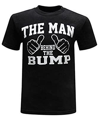 The Man Behind The Bump Men's T-Shirt