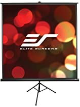 "Elite Screens T119UWS1 Tripod Series Portable Projection Screen (119"" Diag. 1:1 84""Hx84""W)"