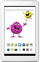 Odys Junior Tab 8 Pro 20,3cm (8'') Tablette Tactile (MTK 8127 1,3 GHz Quad Core, 1 RAM, 8Go HDD, Android 4.4, BT 4.0 HD IPS écran (1280 x 800) inkl. Elternkontrolle, Kindersicherung, Content) Blanc (Import Europe)