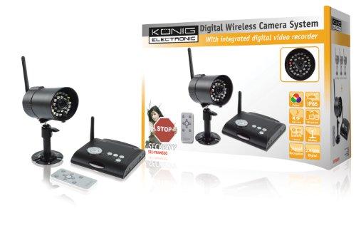 Digitale 2,4 GHz Funkkamera mit Empfänger, SEC-TRANS50