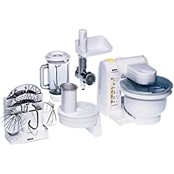 Bosch MUM4655EU Küchenmaschine MUM4 (550 Watt, 3.9 Liter) weiß