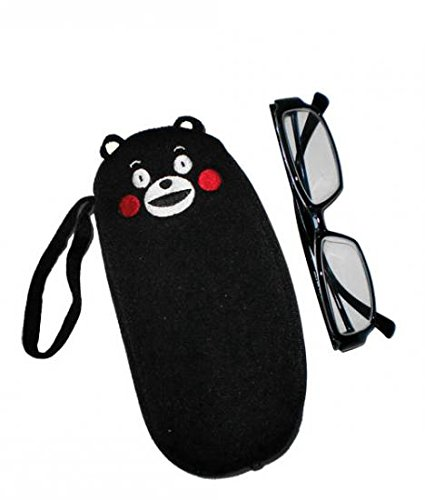 Kumamon of Crepe Elongated Pouch (Smile)