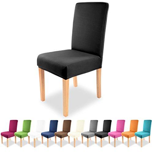 Grfenstayn-Universal-Stuhlhusse-Charles-in-verschiedenen-Farben-fr-runde-und-eckige-Stuhllehnen-Schwarz