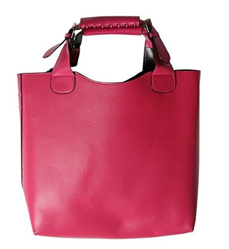 koson-man-womens-patent-leather-boutique-tote-bags-top-handle-handbagpink