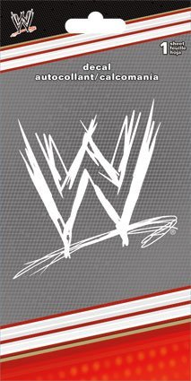 WWE Logo Sticker
