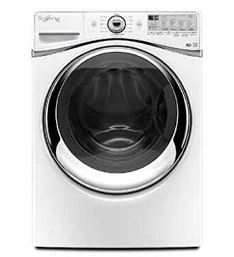 Whirlpool WFW94HEAW Duet 4.3 Cu. Ft. White Stackable With Steam Cycle Front Load Washer - Energy Star