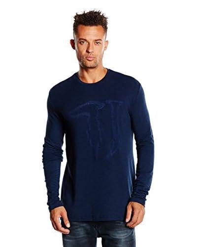 Trussardi Jeans Longsleeve Close Fit [Blu Navy]