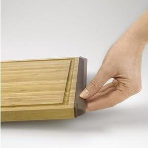 OXO Good Grips 9-by-12-Inch Bamboo Cutting Board, Bamboo