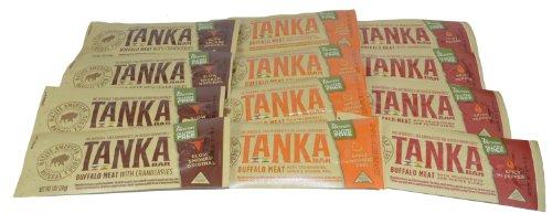 Tanka Bar Natural Buffalo Bar Variety Pack of 12