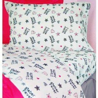Justin Bieber Twin Bed Set