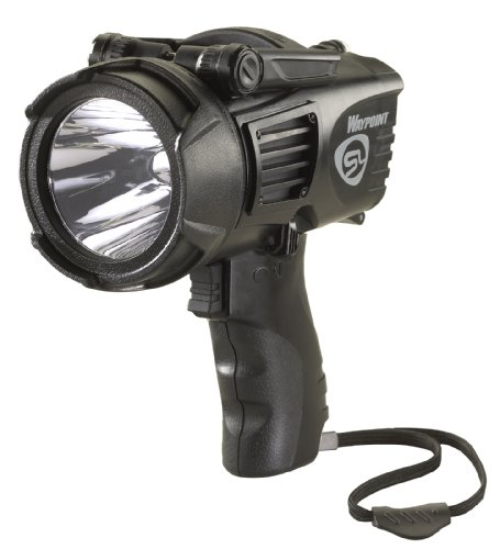 Streamlight 44911 Waypoint Spotlight with 120-volt AC Charger, Black