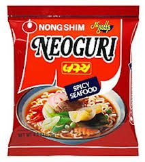 Nongshim Neoguri Spicy Seafood Noodle (Pack of 2x20pkg)