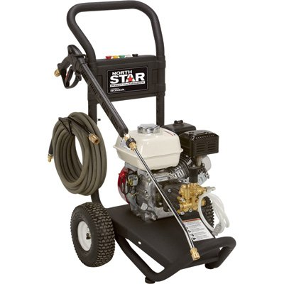Northstar Gas Cold Water Pressure Washer - 2.5 Gpm, 3000 Psi, Honda Engine, Model# 15781120 front-6723