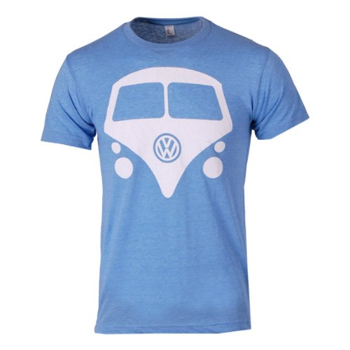 Vw Mini Bus - Light Blue- Xlarge
