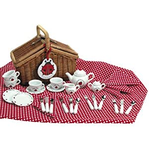 Click to buy Ladybug Tea Set Basketfrom Amazon!