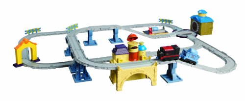 Chuggington Interactive Steam Around Old Town Set with Puffer Pete