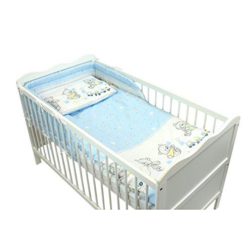 3-tlg-Bettset-Baby-Bettwsche-mit-Nestchen-Komplettset-Eulen-und-Tiermotive-Bettausstattung-Made-in-EU-Farbe-Brchen-2-Blau-Anzahl-der-Teile-3-tlg-Set