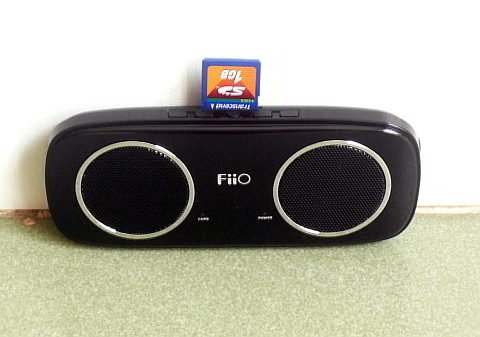 Fiio S3 Elegant Portable 2.4 Watt Stereo Speaker With Sd Card Slot And Headphones Jack - Usb 2.0 Interface - For Pc, Laptop, Notebook, Mp3/Mp4 Players, Memory Cards, Mobile Phones And All Audio Devices - Black