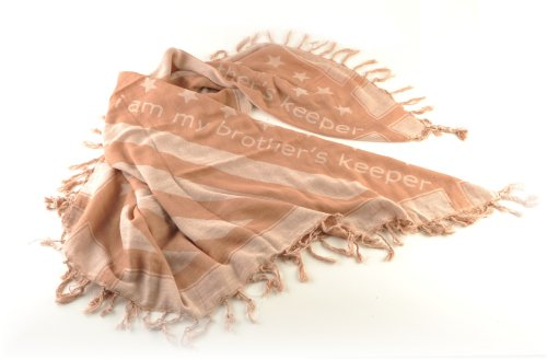 Shemagh Tactical Desert Scarf US Marines Edition US Flag Pattern
