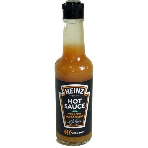 Heinz Hot Sauce Very Hot Yellow Habanero 150ml