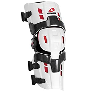 EVS Sports RS8 Pro Knee Brace (White, X-Large) - Pair by EVS Sports