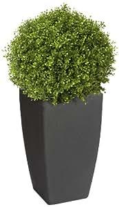 Algreen Madison Charcoal Planter, Large