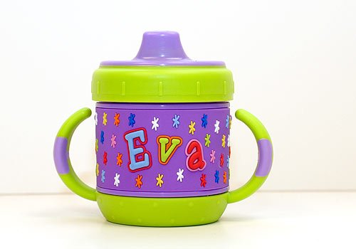 Personalized Sippy Cup: Eva front-640843