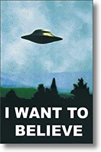 The X-Files I Want To Believe  X Files I Want To Believe Poster
