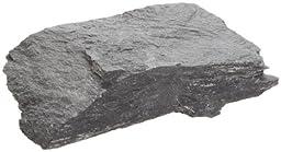 American Educational Black Gray Slate Metamorphic Rock, 1Kg