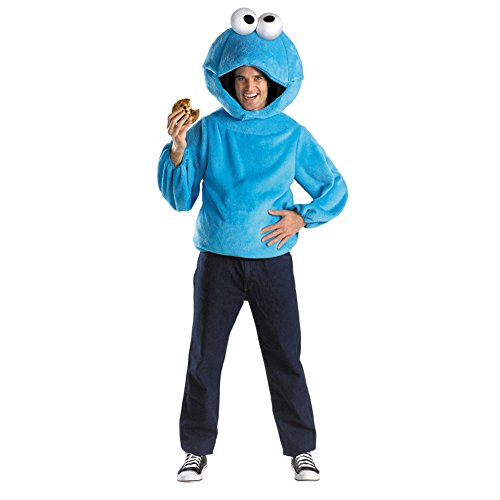 Cookie Monster Child Costume Size Teen (38-40)