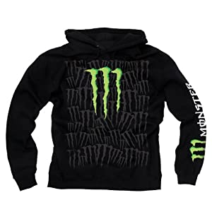 monster energy men 39 s hoody pullover sports monster. Black Bedroom Furniture Sets. Home Design Ideas