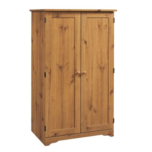 Sugar Creek Computer Armoire- Spiced Pine