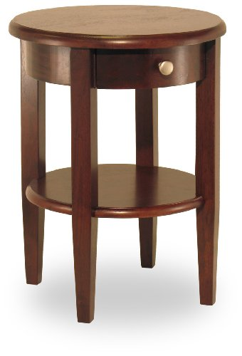 Cheap Winsome 94217 22″ Round End Table, Antique Walnut (B000MQU36S)