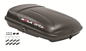 Rola 59004 Airfoil LG Black Roof Top Cargo Box by Rola