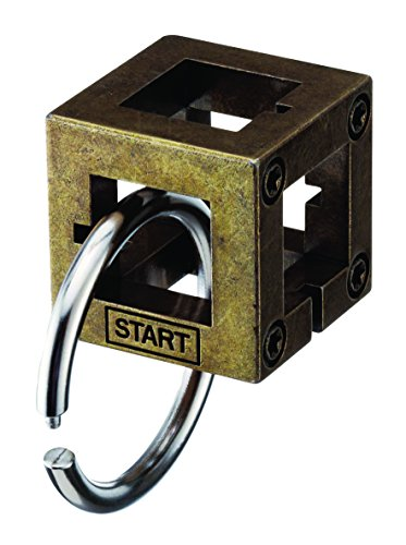 BOX Hanayama Cast Metal Brain Teaser Puzzle (Level 2)