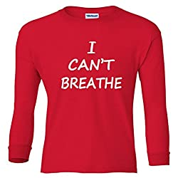 I Can't Breathe Protest Police Youth long sleeve T-Shirt