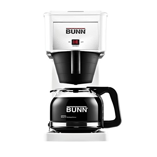 BUNN GRW Velocity Brew 10-Cup Home Coffee Brewer, White (Bunn Coffee Makers For Home White compare prices)