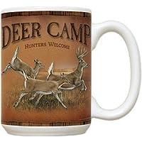 Deer Camp Ceramic Mug Ron Vangider & Wild Wings C68