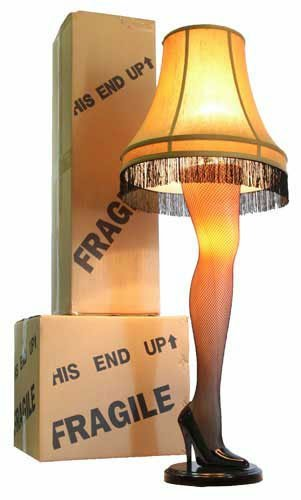 "A Christmas Story Full Size 45"" Leg Lamp"