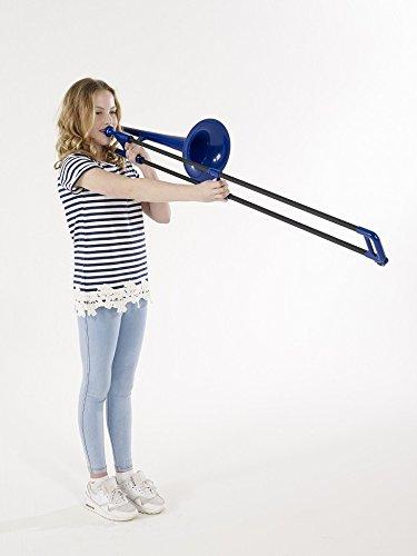 pbone pbone1 bl trombone in plastica blu tromboni panorama auto. Black Bedroom Furniture Sets. Home Design Ideas