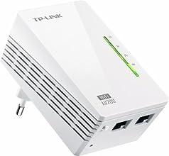 TP-Link TL-WPA2220 - Extensor Powerline (WiFi AV200 a 300 Mbps), Blanco
